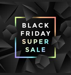 Black friday sale background vector