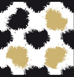 decorative seamless spots pattern vector image