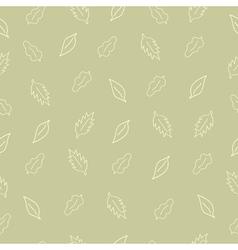 pattern leaf5 vector image vector image