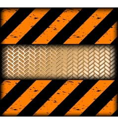 Warning strips with gold texture vector