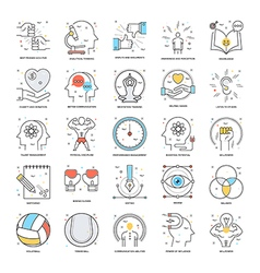 Flat color line icons 19 vector