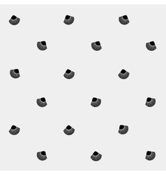 Geometric simple monochrome minimalistic vector image