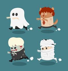 Halloween monster vector