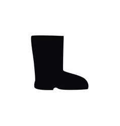 Isolated shoes icon boots element can be vector
