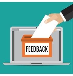 Online feedback concept vector