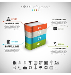 School infographic vector