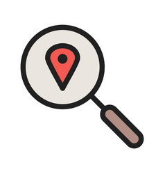 Search location vector