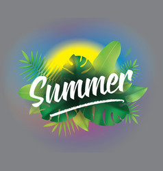 Summer time background for posters and vector