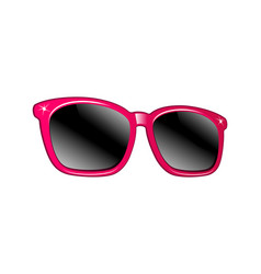 sunglasses isolated on white vector image vector image