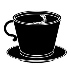 Coffee cup isolated icon vector