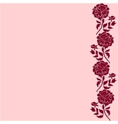 Delicate pattern with peony flowers background for vector
