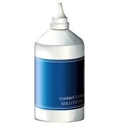 A contact lens solution vector