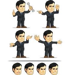 Businessman or Company Executive Customizable 10 vector image vector image