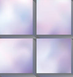 Soft background vector image