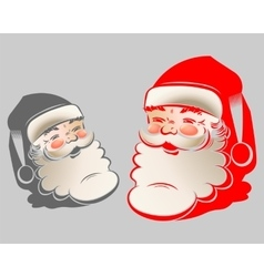 The figure of Santa Claus vector image vector image
