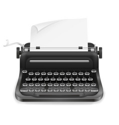 typewriter old retro vintage icon stock vector image