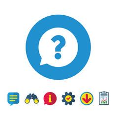 Question mark sign icon help symbol vector
