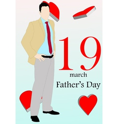 March 19 fathers day version 2 vector