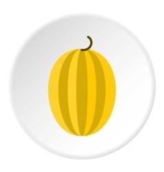 Gooseberry icon flat style vector