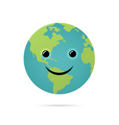 happy earth day world environment day vector image