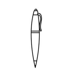 Isolated pen design vector