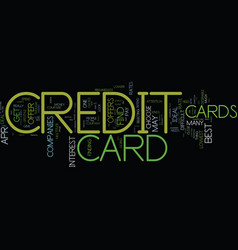 You should get an ideal credit card offer text vector