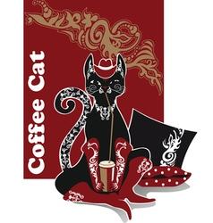 Coffeecat4 vector