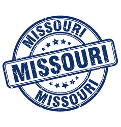 Missouri stamp vector