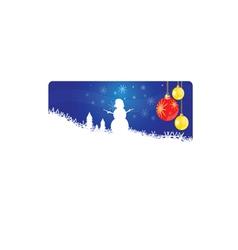 Snowman new 2013 year vector