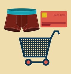 Buying products vector