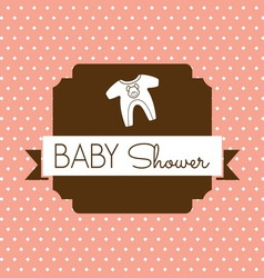 bebi shower1 resize vector image