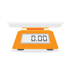 Electronic scales for products vector