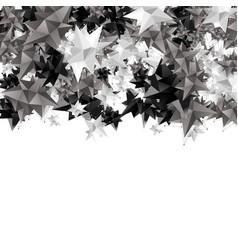 Modern geometric shape 3d polygon vector
