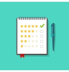 Concept of satisfaction feedback customer reviews vector