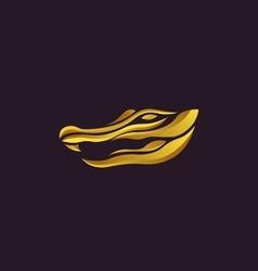 Alligator logo vector image