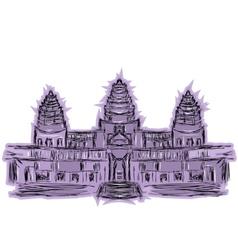 Angkor wat vector