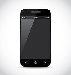 Cellphone apps vector image vector image