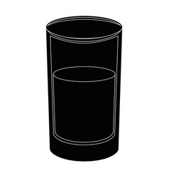 Cup of water vector