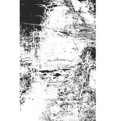 Distressed overlay texture of rusted peeled metal vector