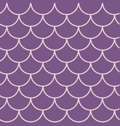 Girl mermaid seamless pattern vector