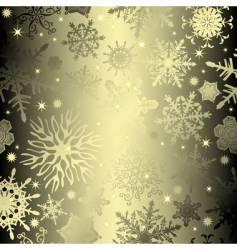 seamless snowflake vector image vector image