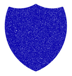 Shield icon grunge watermark vector