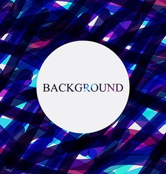 abstract background colorful Transparent colors vector image vector image
