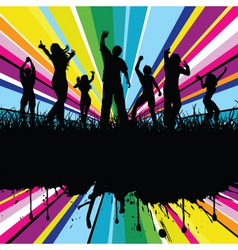 Colourful party vector
