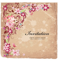 Design flower vector