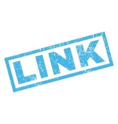 Link rubber stamp vector