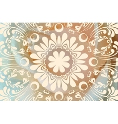 Cute wedding lacy horizontal background or vector