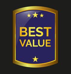 Best value label vector