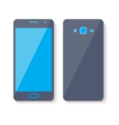 Mobile phone icon flat style design vector