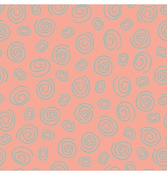Abstract pattern spiral pink vector image vector image